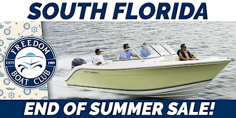 South Florida End of Summer Sale! tickets