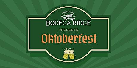 Oktoberfest at Bodega Ridge tickets