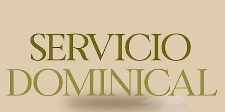 1er. Servicio Dominical - Domingo 26 de Septiembre entradas