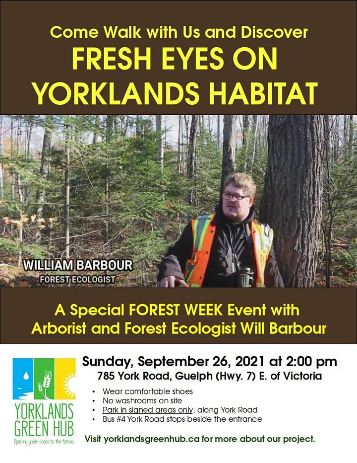 Yorklands Tour: Trees and Horticulture image