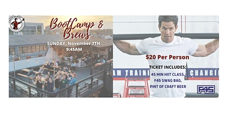 F45 Bootcamp and Brews tickets