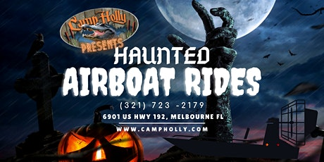 Haunted Airboat Rides tickets