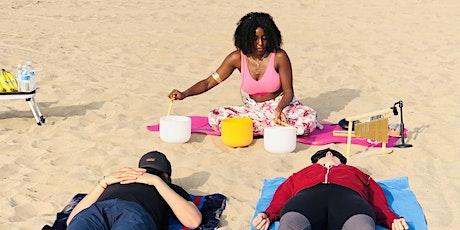 Beach Sound Bath & Breath work Class tickets