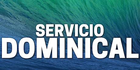 2° Servicio Dominical - Domingo 26 de Septiembre entradas