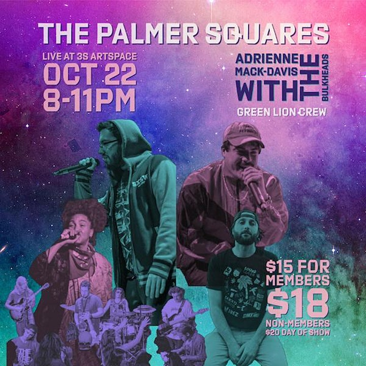 The Palmer Squares w/ Adrienne Mack-Davis  and  Green Lion Crew image