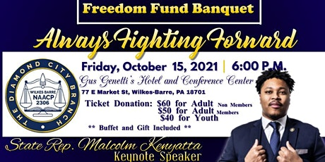 Wilkes Barre NAACP Freedom Fund Banquet tickets