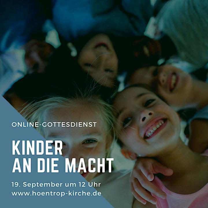 Digitaler Live-Gottesdienst: Kinder an die Macht: Bild