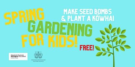 Spring Gardening for Kids! tickets