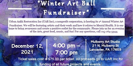 """Urban Ankh Restoration """"Winter Art Ball Fundraiser"""" tickets"""