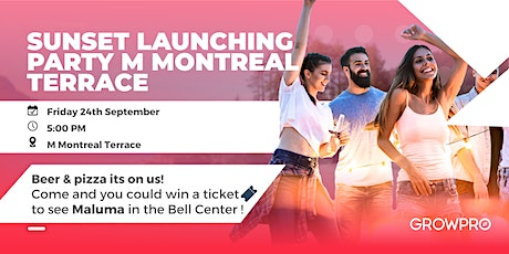 Sunset Party at M Montreal Terrace tickets