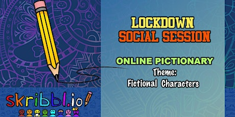 Lockdown Social Session: Faculty Pictionary tickets