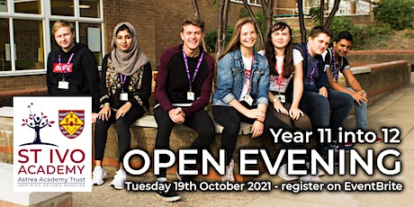 St Ivo Sixth Form Open Evening tickets
