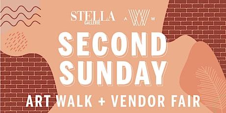 Second Sunday Art Walk + Vendor Fair Application - 2021-2022 tickets
