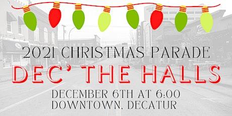 Decatur Christmas Parade tickets