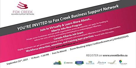 Fox Creek Business Support Network event tickets