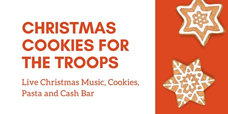 Cookies for the Troops Christmas Party tickets