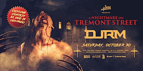 A Nightmare on Tremont Street   10.30.21   10:00 PM   21+ tickets
