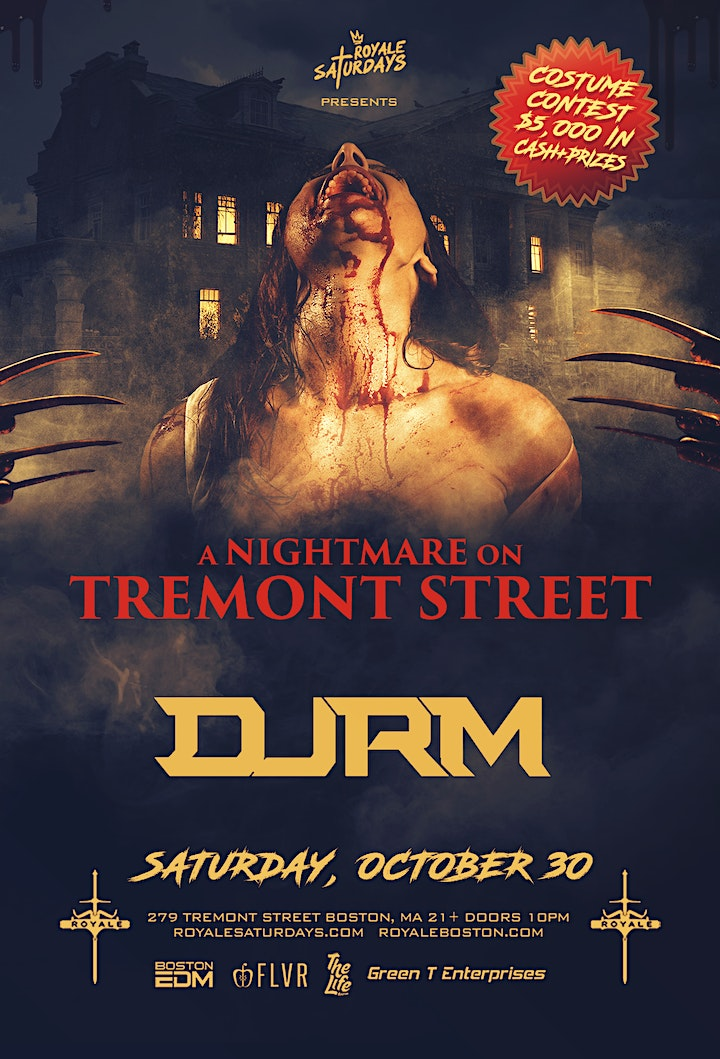 A Nightmare on Tremont Street | 10.30.21 | 10:00 P image