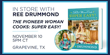 Meet the Pioneer Woman, Ree Drummond at the Grapevine Books-A-Million tickets