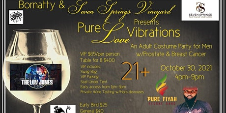 Pure Love Vibrations tickets