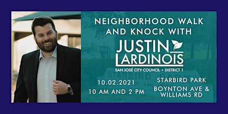 Neighborhood Walk and Knock tickets