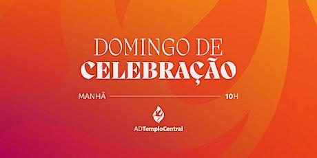 CULTO MATINAL - DOMINGO - 19/09/2021 - 10H ingressos