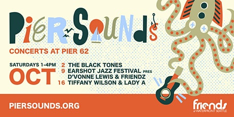 Pier Sounds: The Black Tones and Friends tickets