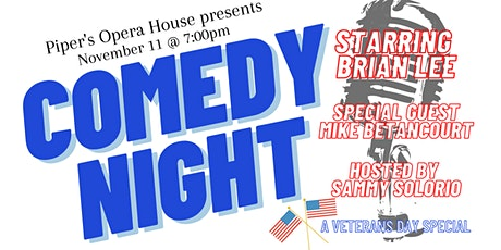 Veteran's Day Comedy Show with Brian Lee tickets