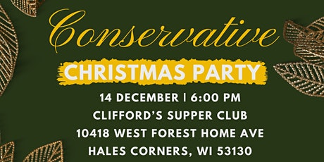 Conservative Christmas Party tickets