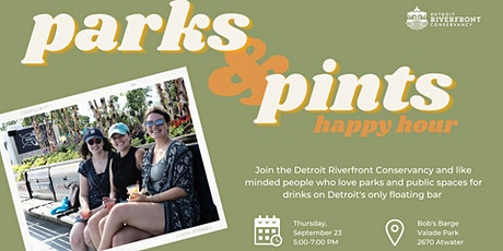 Parks & Pints Happy Hour tickets