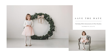 Holiday Mini Sessions tickets