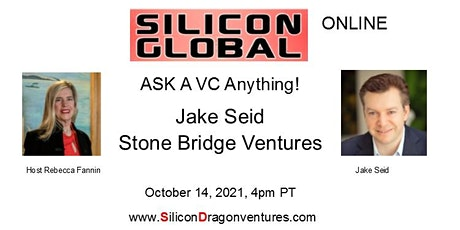 Silicon Global Online: Ask VC Jake Seid Anything! tickets