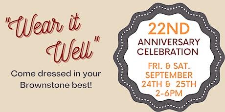 22nd Anniversary Celebration tickets