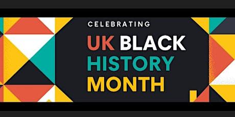 Black History Month - MTSA & MTYBA - 18.10.21 at 7:30pm tickets