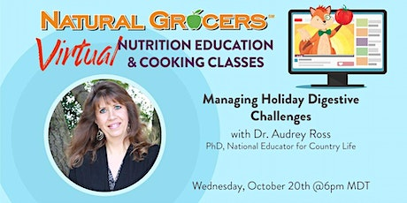 Managing Holiday Digestive Challenges tickets