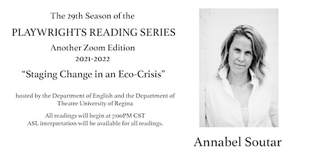 PLAYWRIGHTS READING SERIES - Annabel Soutar tickets