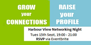 Harbour View Biz Group Networking Night - September...