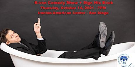 K-von in San Diego (Comedy Show + Sign His Book) tickets