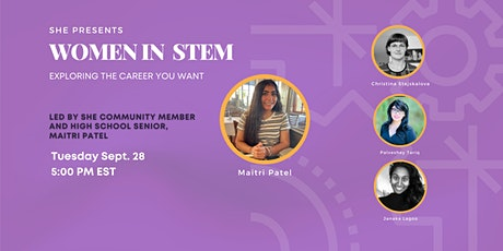 Women in STEM: Exploring the Career You Want tickets
