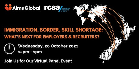Immigration, Border, Skill Shortage: What's Next for Employers & Recruiters tickets