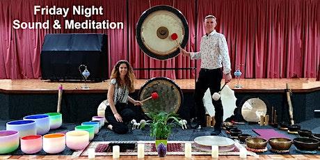 Sound Healing & Guided Meditation - Tibetan & Crystal Singing Bowls & Gongs tickets