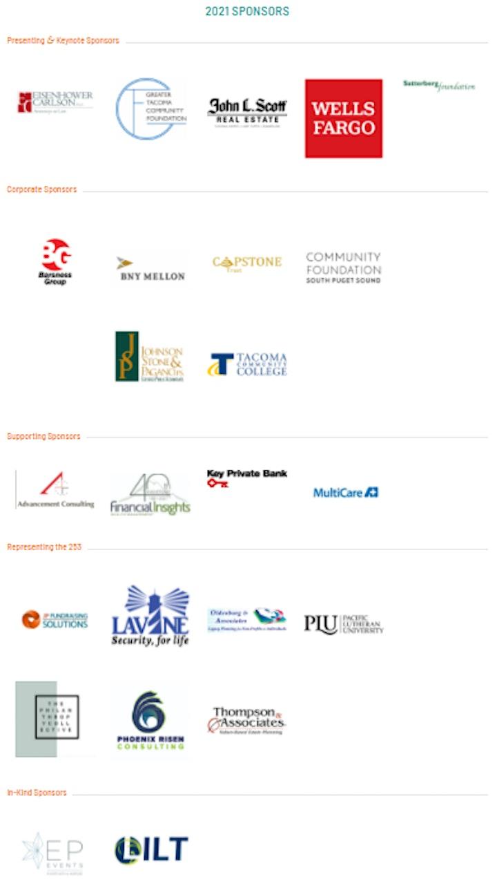 2021 Annual South Sound Philanthropy Summit image