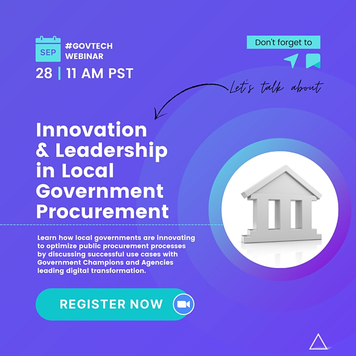 Innovation & Leadership in Local Government Procurement image