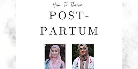 How to Thrive Postpartum Special Presentation billets