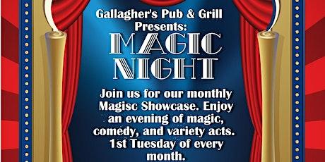 Magic Night At Gallagher's Pub & Grill tickets