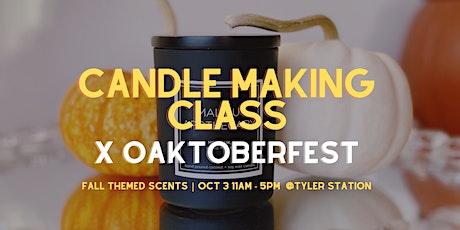 Candle Making Class x Oaktoberfest tickets