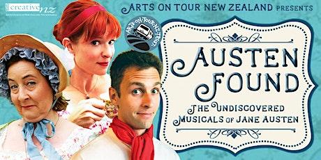 Austen Found - The Undiscovered Musicals of Jane Austen tickets