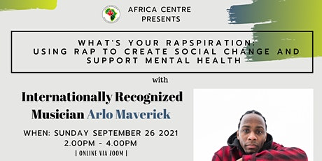 What's Your Inspiration: Using Music  to Create Social Change (Online) tickets