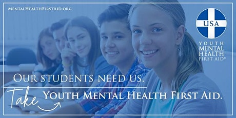 Youth Mental Health First Aid® tickets