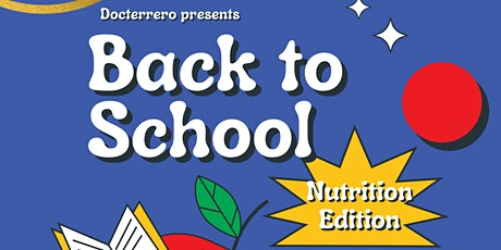Back to School- Nutrition Edition tickets